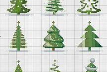 haft krzyżykowy/cross stitcher - Boże Narodzenie/Christmas