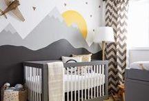 nursery design inspirations / nursery design ideas, decoration, furnitures, wall decor, color palettes