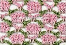 szydełkowanie/crochet -wzory/patterns