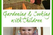 Gardening & Cooking with Children - Handy Herbs / Growing food with children and using it to cook simple recipes together.