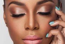 dark skin makeup / make up for women of color