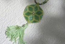 bijoux by LA MERCERIE et nos clientes / Des bijoux réalisés par Katia pour La Mercerie. Bijoux réalisés pas nos élèves et clientes.