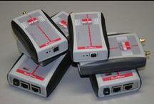 RFID Architecture / Carellata di immagini di dispositivi e componenti RFID: reader, antenne, tag/transponder, periferiche