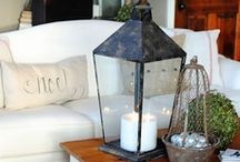 Decorating ideas / Home is wherever I am with you...