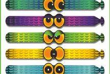 ZioFrank's Bracelets / Flexibile PVC Bracelets multilock. The misures and other details are on www.ziofrank.it/BRACELETS Visit the blog ;)