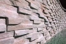 Cladding & Walling / Images of our cladding and walling paving - viewed by application.