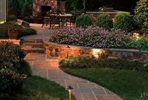 Gardens/backyard/patio