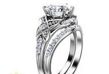 Bridal Sets / Unique Bridal Ring Set's in solid 14K or 18K gold