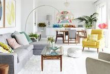 Living Room Ideas & Inspirations / A gorgeous curated list of living room ideas and inspirations for your home