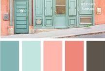 Color Ideas & Inspirations / Put some color in your life and home.