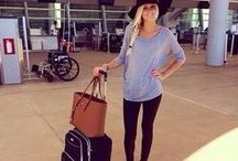 Airplane outfits & travel tips
