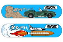 My AS Graphics Skate/Surf/Snow Board Designs