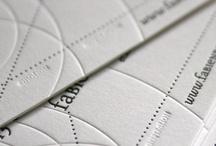 Letterpress Designs / Letterpress Designs and business cards