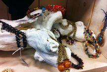 My own creations / Mijn eigen gemaakte sieraden! Zie ook www.atelier-jangelique.nl