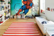 Bold Boy Bedroom