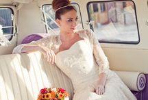Wedding: VW Camper / Creative wedding shots using a VW camper van