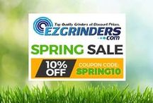 Coupons and promotions / Get all of the latest and greatest savings on top brand premium herb grinders and accessories.