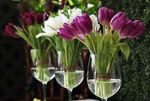 KOMPOZYCJE  KWIATOWE   BUKIETY  / ...orginalne układanie kwiatów w bukiety.