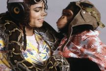 Michael Jackson And Animals