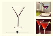 Martini / Our epic Martini Glass, and some cocktail ideas pinned only for you!