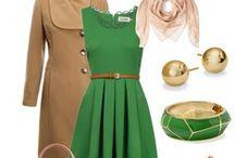 Outfits für den weiblichen Frühlingstyp / Outfits Kombination für den weiblichen Frühlingstyp. Hell, klar und strahlend. www.olgaeser.com