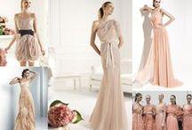 The Bride wears colour