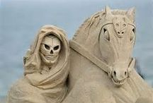 Sculpture sur sable - Sand sculptures