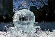 Sculpture sur glace - Ice sculptures/Snow sculptures