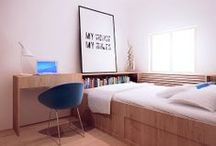 Sypialnie / Projekty MBVision mebli na wymiar do sypialni