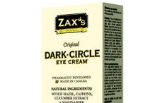 Zax's Dark-CIrcle Eye Cream / We can help your eyes look their best, so you can look refreshed and youthful.