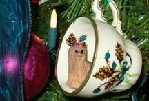 Deck the Halls ♪♫♪ / Beautiful Christmas decorations of all kinds -- my favorite time of the year!