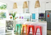 Vivir con color - eclectic living - Wohnen mit Farbe / Bring Farbe ins Leben! Add colour to your life! Ponte un toque de color a tu vida !