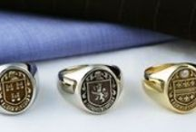 John Christian | Family Crest / John Christian's Family Crest Collection honors your family's coat of arms in detailed, heirloom-quality pieces. / by John Christian Jewelry
