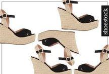 Plataformas / wedges Shoestock