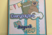 My scrapbook projects