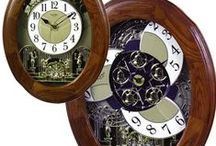 Holiday Clocks / This collection of clocks really brings warmth to any home during the holiday season