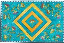 FloorCloth / Расписанные ковры, коврики Америки и Европы.