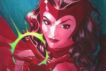 Scarlet Witch. - (Marvel).