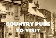 PUB OF THE WEEK - COUNTRY PUBS / Looking for pub-inspiration? Simply peruse our picks of the finest pubs of all shapes, sizes and styles to visit - and enjoy - up and down the country. Share your experiences too, please!
