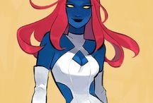 Mystique. | X-men. - (Marvel).