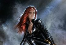 Black Widow. - (Marvel).