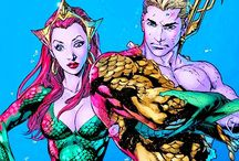 "Aquaman and Mera. - ""DC""."