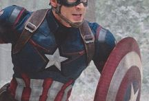 Captain America. - (Marvel).