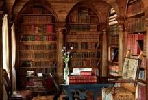 Library in home