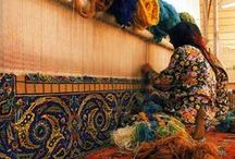 The Culture and Sights of the Rug Weaving World / Insight into the world and culture of hand woven Oriental rugs