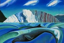 Kathy Hodge - Glacial AIR / Paintings of Alaska by Kathy Hodge, 2011 and 2014 Artist in Residence with the US Forest Service.