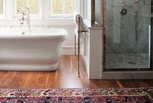 Bathrooms to Envy / Great rugs that make an even better bathroom.
