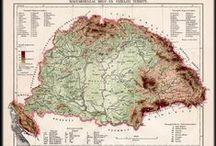 Old mapes / Régi térképek