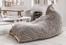 Bean bag chair / Babzsákfotel