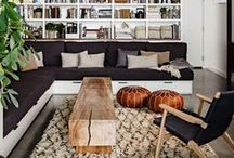 Modern Bohemian / Modern spaces injected  with global texture